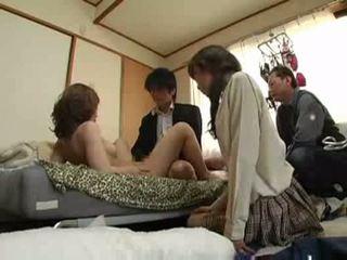groupsex, जापानी, pussyfucking