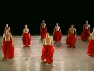 나체상 댄스 ballett 그룹