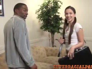 interracial, big black dick, teen