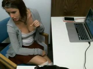 Awesome public library masturbation video - Real GF Porn