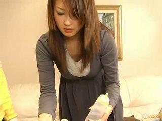 اليابانية av نموذج مص كوك