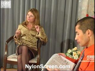 überprüfen strumpf sex mehr, qualität nylon slips and sex spaß, echt sex and nylon stockings heißesten