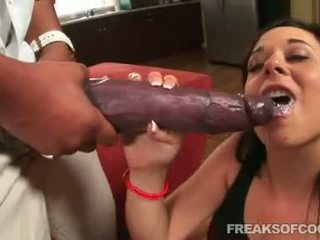Soaked Porn Floozy AArielle Alexis Stuffs Her Mouth With A Monster Penis