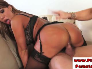 Ava Devine With Brandi Mae riding cock after sucking