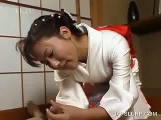 Japán geisha rubbing fasz