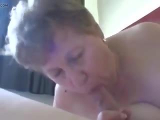 Stará mama: semeno v ústa & židovské porno video d1