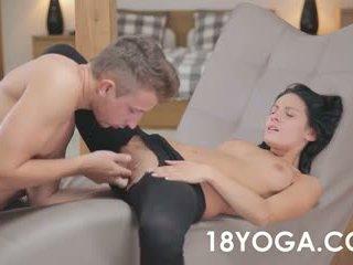 Teen Lexi Dona Ass Fucked In Her Yoga Pants