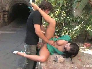 sesso hardcore, cazzo duro, sesso all'aperto