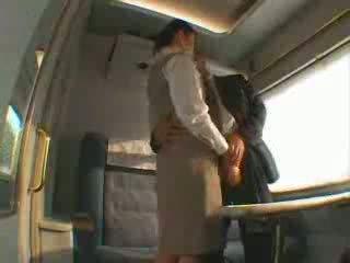 Japansk tog servis faen video