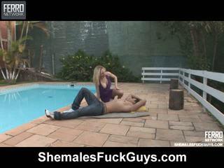 Alessandra sena tranny screwing dude na video