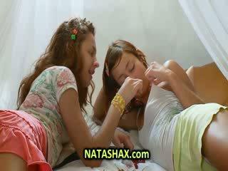 Small babe girl Natasha loves sex