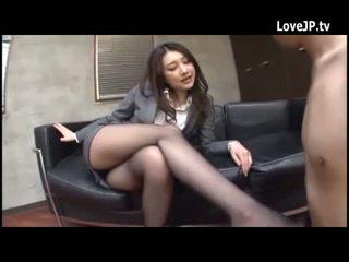 Japonesa agradável pernas 224746