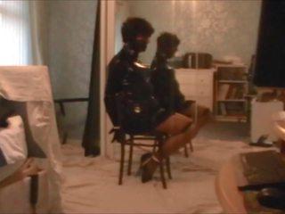 Kathy стілець tied в ballet каблуки, безкоштовно hd порно 90
