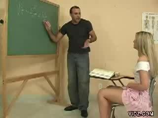Kåta läraren pinn fabrikat studenten show fittor