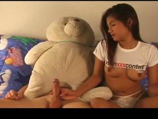 Tailandietiškas nymph has pakliuvom srautas