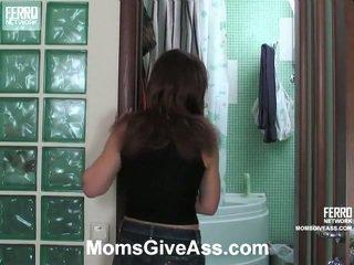 Smutty ağlayan seks vid sundu tarafından anneler vermek kahverengi tunnel