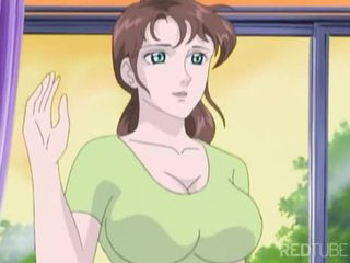 Gros seins manga fille taken par nerd