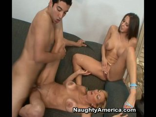 Dude Has Erotic 3some Near His Miss An...