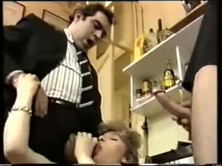 Prancūziškas klasikinis: nemokamai vintažas porno video