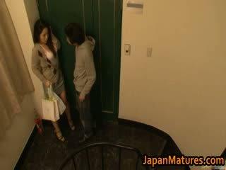 Ayane Asakura mature Asian model has sex