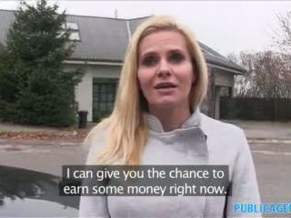 Publicagent desperate μητέρα που θα ήθελα να γαμήσω fucks για ένα δουλειά