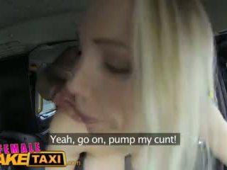 Femalefaketaxi Busty Tit Wank Makes St...
