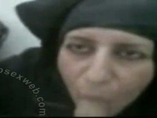 Hijabi Mature Arab Blow Job