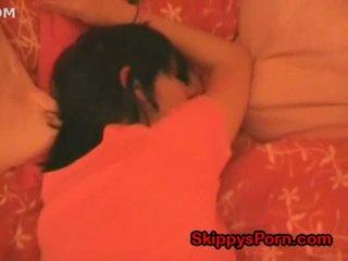 可愛 青少年 是 睡眠