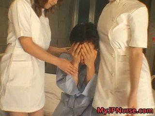 Aki mizuhara এবং misaki asou দৈত্য busted