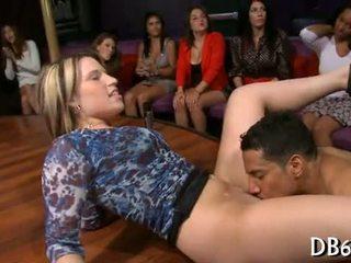 striptease, blowjob, orgy