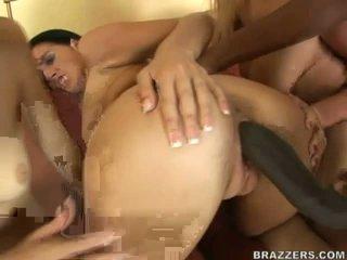 Sexy bitches share massive ireng boner