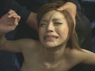 japonski, obraza, gangbang