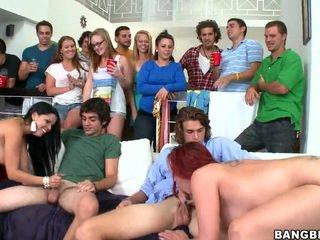 hardcore sex, sexo universidad, orgía