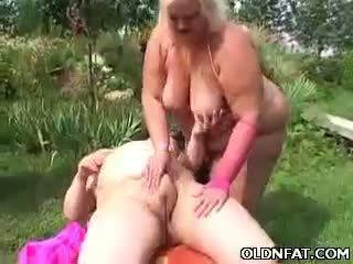 Kövér érett szőke játék szar