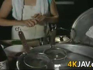 japanilainen, kypsä, hardcore