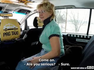 チェコ語 成熟した ブロンド 飢えた のために taxi drivers コック: ポルノの 99