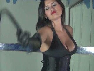 Kalinda Whipping Amusement For A Sadis...