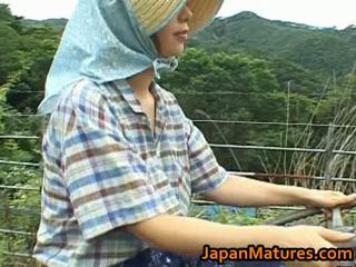 Chisato shouda 亞洲人 成熟 小雞 gets