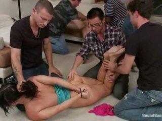 hardcore sex, pěkný zadek, double penetration