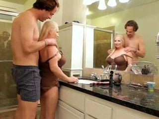 Fresh Semen Onto Massive Mom Id Like T...