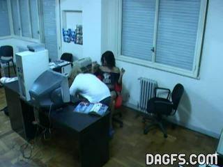 Office Fuck Caught By Hidden Webcam