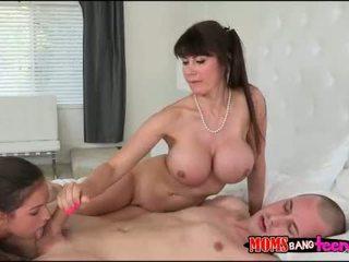 Eva Karera and Shae Summers sharing hardcock