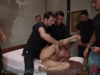 Brutal Gangbang of a Filthy Whore