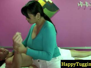Skutečný thajská masseuse playthings zavřít na zonker