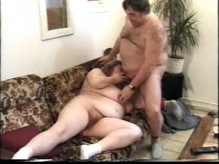 Horny and chubby granny blowjob Video