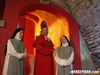 Nuns und preachers verrückt orgie