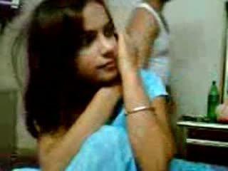 Індійська сором'язлива підліток краля трахання з її boyfriend