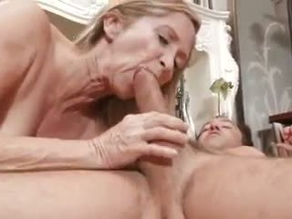 granny, outdoors, couple