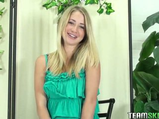 innocent amateur, fellation, blondes