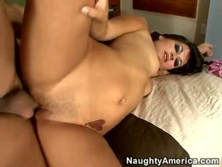 brunette, hard fuck, man big dick fuck
